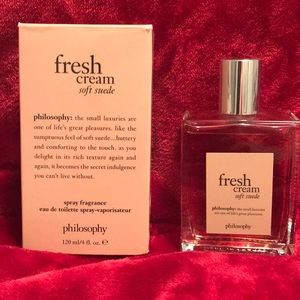 Philosophy Fresh Cream Soft Suede Fragrance